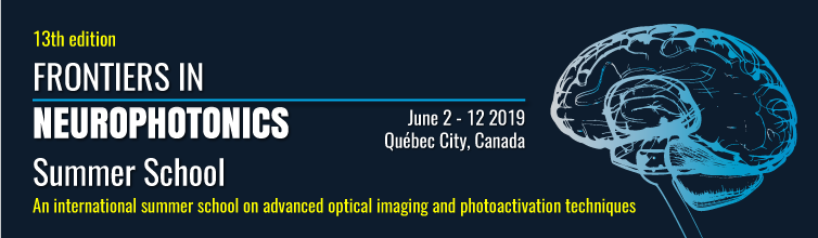 2019 neurophotonics summer school banner