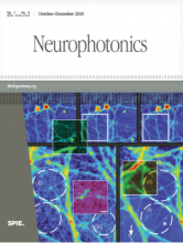 Neurophotonics journal cover