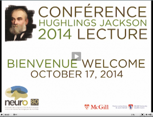 Hughlings Jackson lecture by Karl Deisseroth
